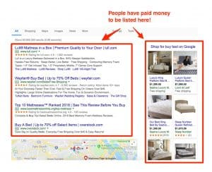 example paid ads