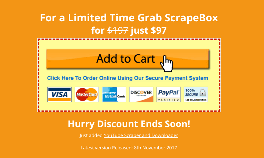 scrapbox cost