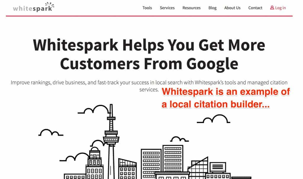 whitespark local citation builder example seo