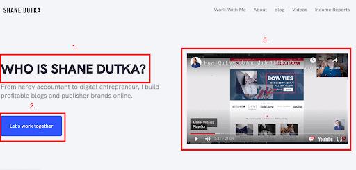 shanedutka example
